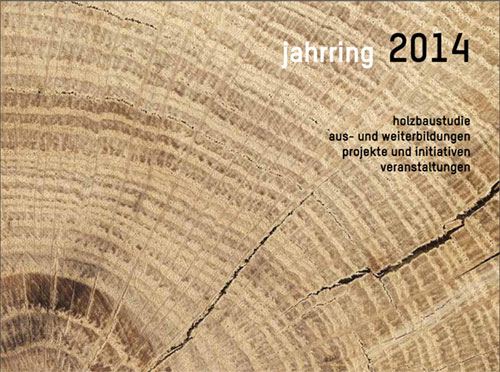 Jahrring 2014 Deckblatt