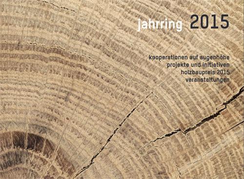 Jahrring 2015 Deckblatt