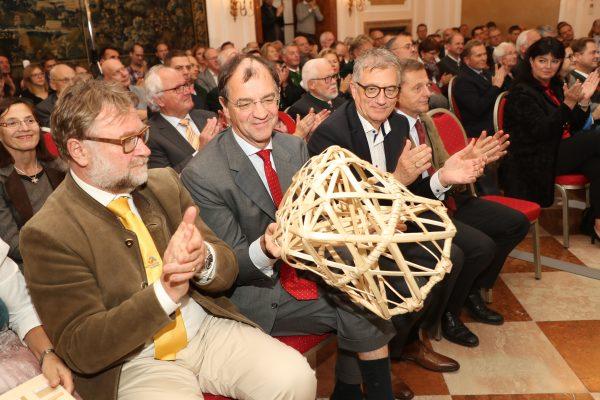 Feier 20 Jahre Pro Holz Salzburg im Kavalierhaus Kleßheim Foto: Franz Neumayr     8.11.2018