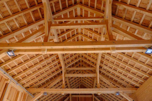 Lungauer Holzsymposium_Kleinsägewerk_Dachkonstruktion