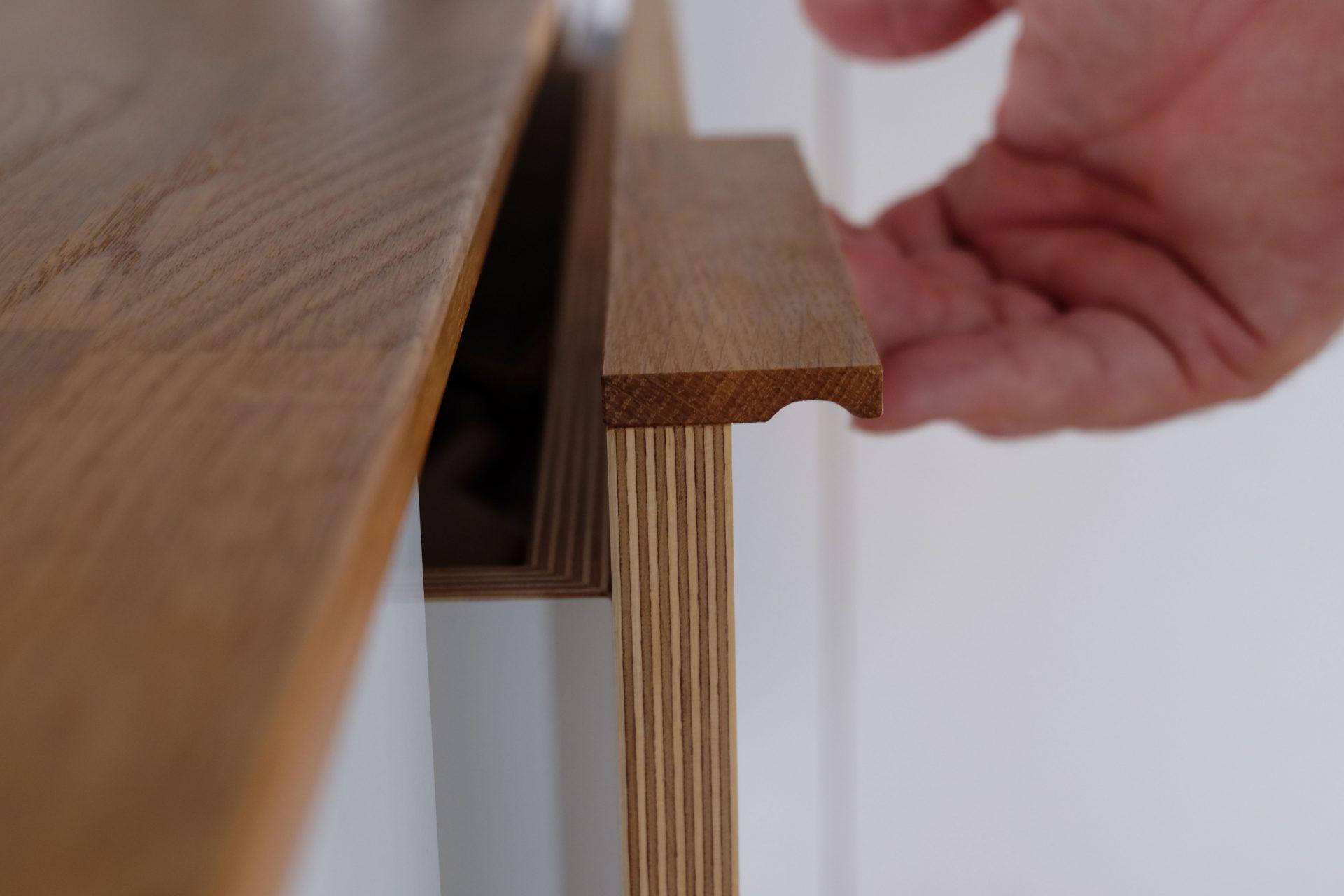 Holz Schublade