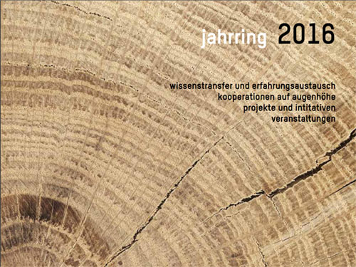 Jahrring 2016 Deckblatt